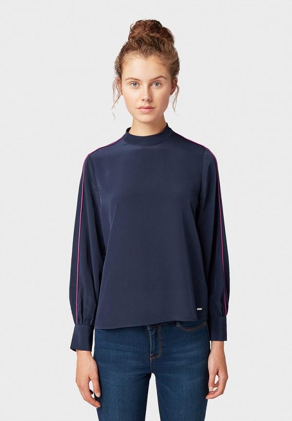 купить Блуза Tom Tailor Denim Tom Tailor Denim TO793EWGXBN7 по цене 2190 рублей
