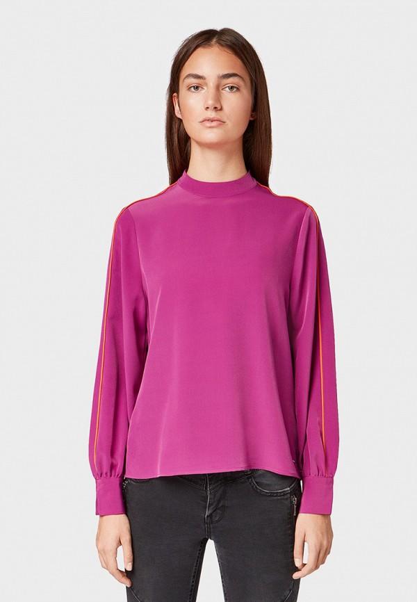 Блуза Tom Tailor Denim Tom Tailor Denim TO793EWGXBN9 цена 2017
