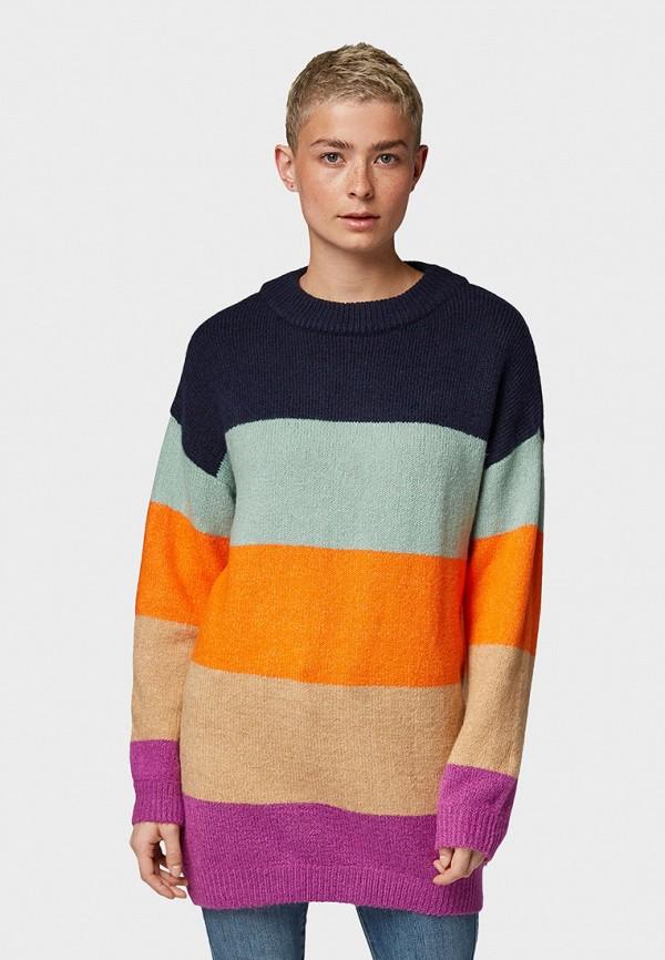 женский джемпер tom tailor, разноцветный