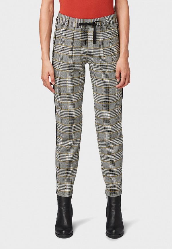женские брюки tom tailor, серые