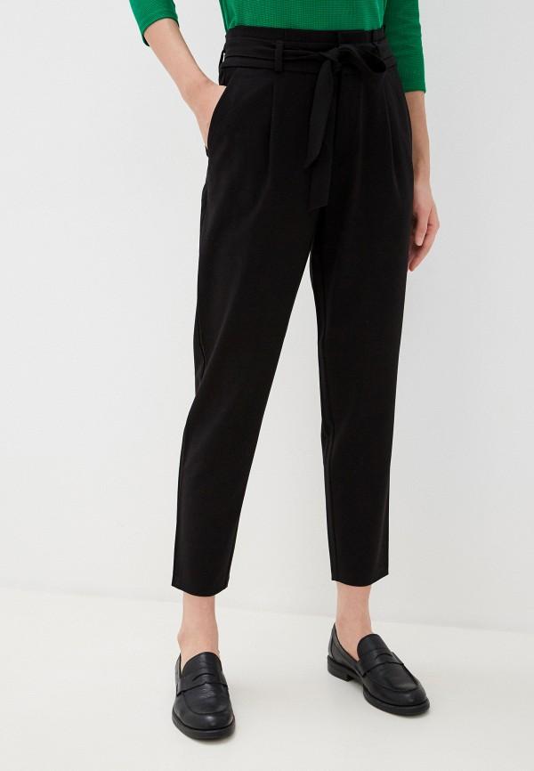 женские повседневные брюки tom tailor, черные