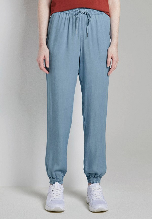 женские брюки tom tailor, голубые