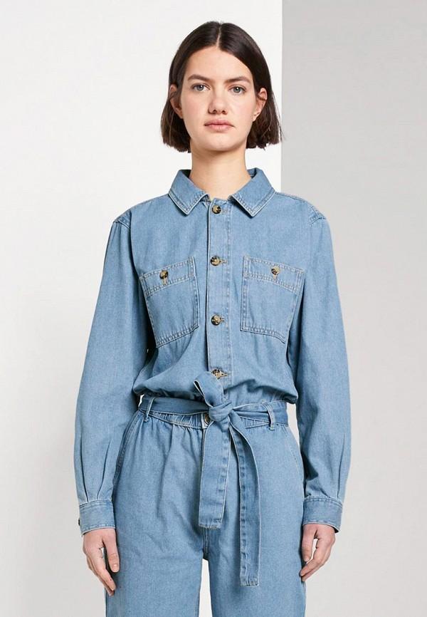 Комбинезон джинсовый Tom Tailor Denim Tom Tailor Denim TO793EWHQIH9 комбинезон tom tailor denim