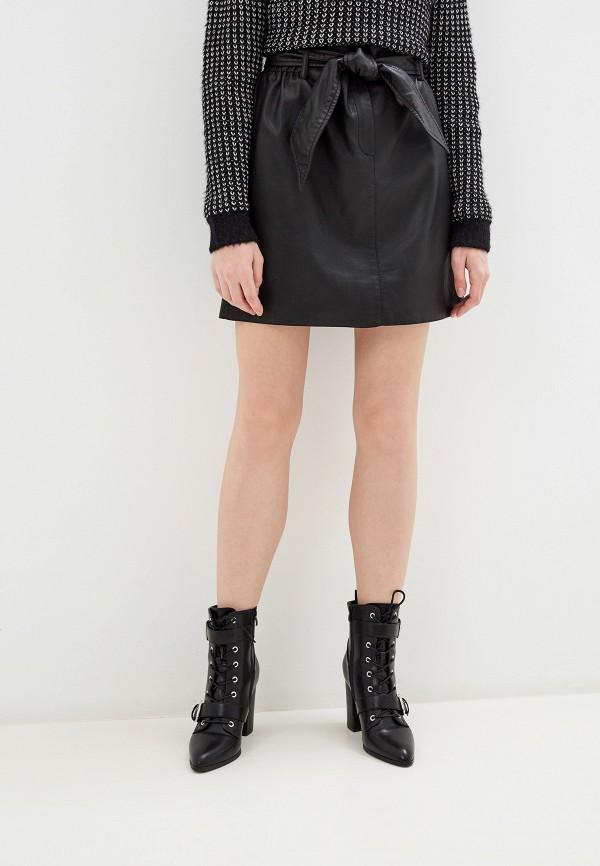 женская юбка tom tailor, черная