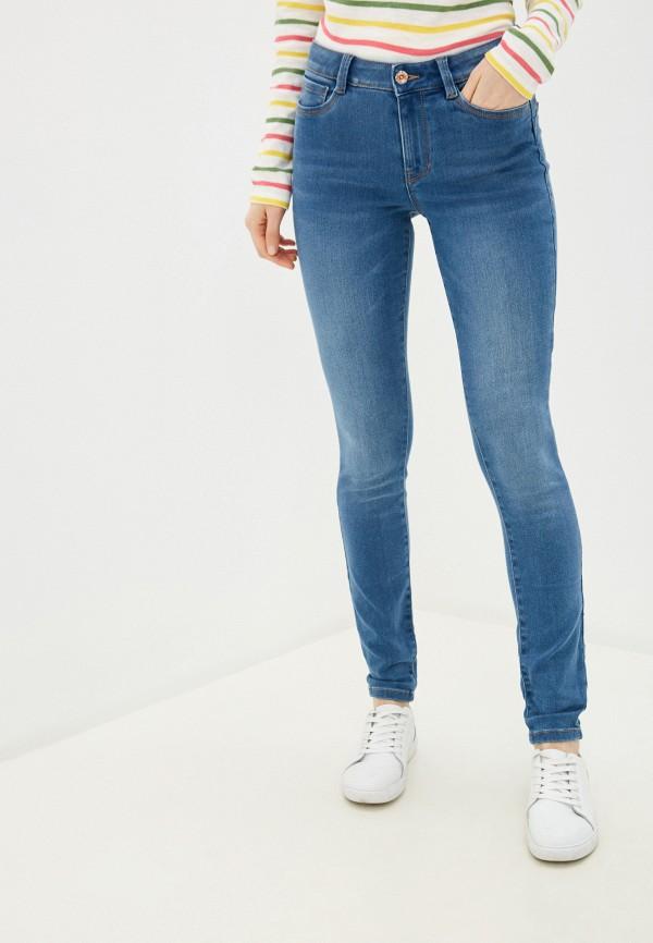женские джинсы tom tailor, голубые