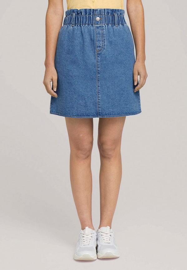 женская джинсовые юбка tom tailor