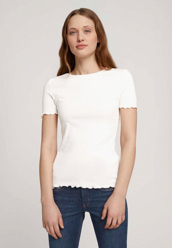 женская футболка tom tailor