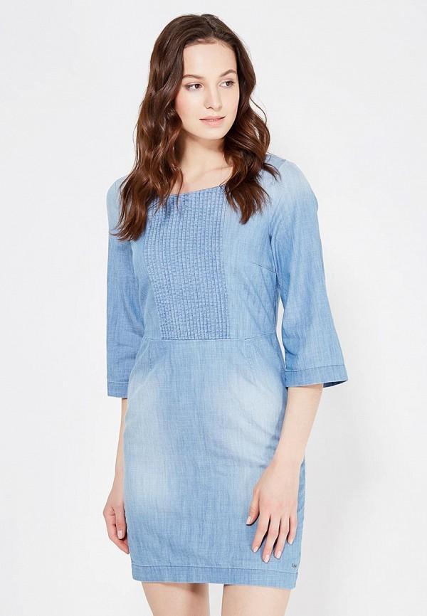 Платье джинсовое Tom Tailor Denim Tom Tailor Denim TO793EWPZG30
