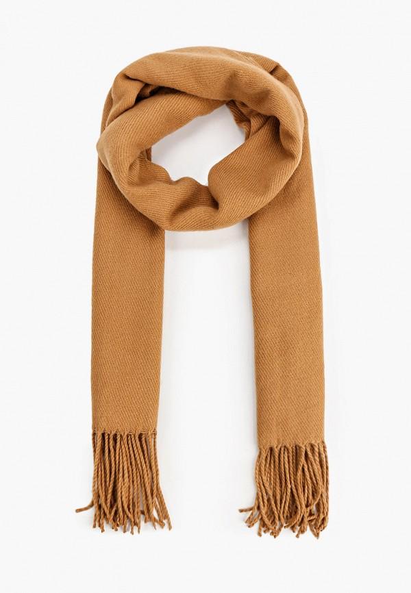 мужской шарф tom tailor, бежевый