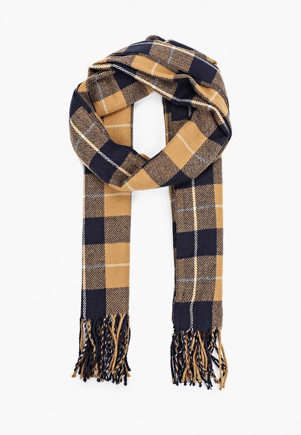 мужской шарф tom tailor, разноцветный