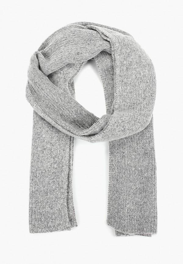 женский шарф tom tailor, серый
