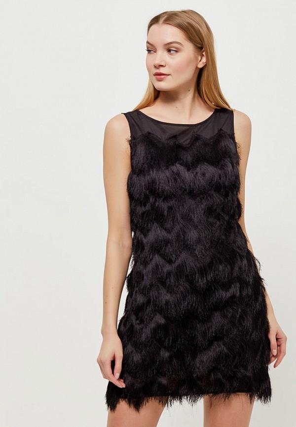 Платье Top Secret Top Secret TO795EWAOKO2 black choker sleeveless crop top