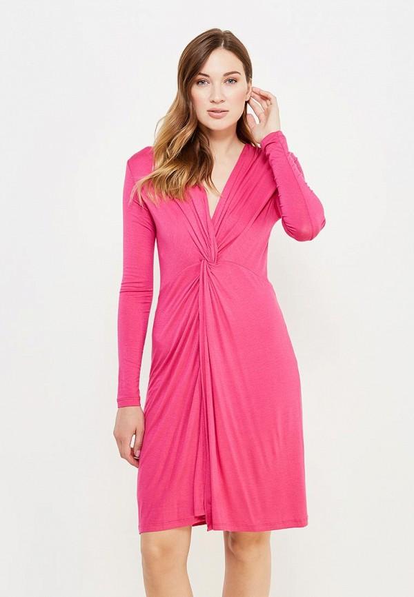 женское вечерние платье top secret, розовое
