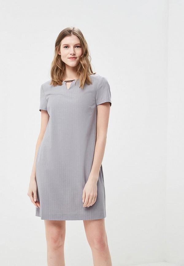 женское повседневные платье top secret, серое