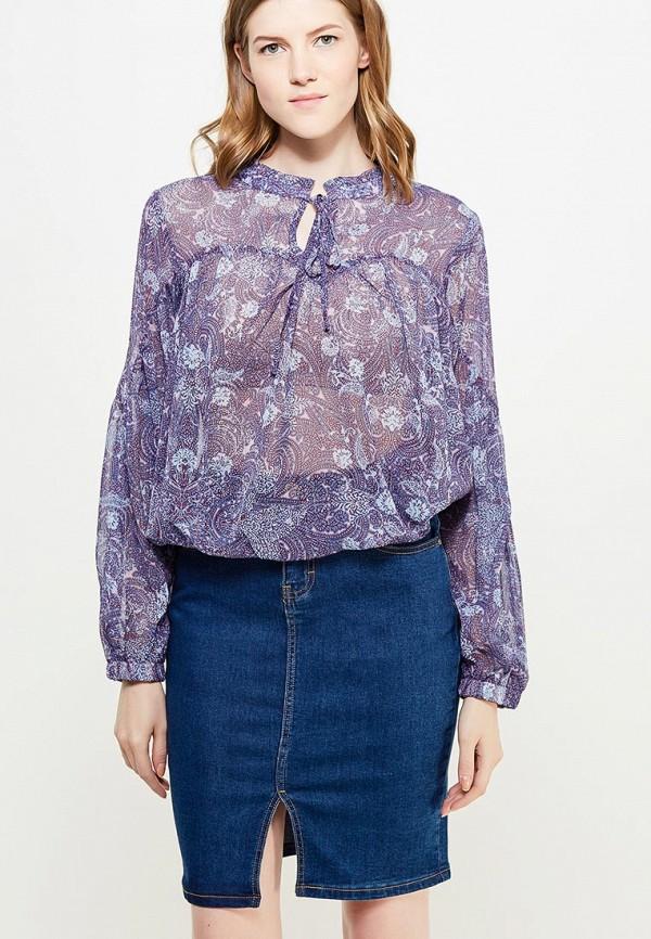 женская блузка top secret, фиолетовая