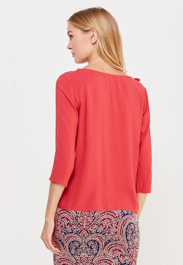 Фото 3 - женскую блузку Top Secret кораллового цвета