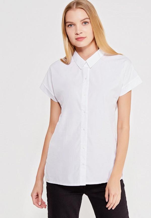 женская рубашка с коротким рукавом top secret, белая