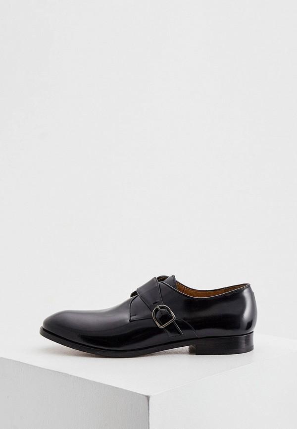 мужские туфли trussardi, черные