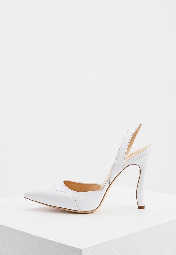 женские туфли trussardi, белые