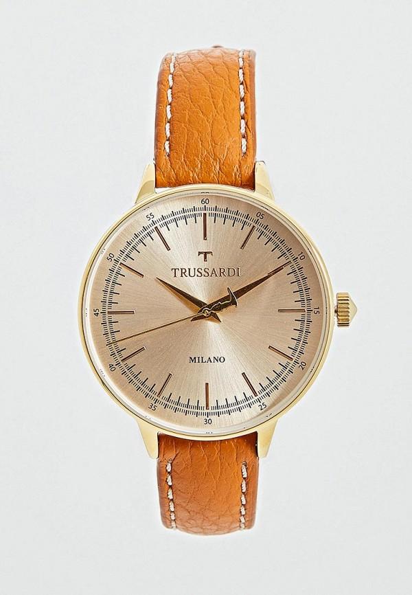 цена Часы Trussardi Trussardi TR002DMEFTC5 онлайн в 2017 году