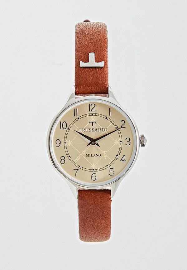 мужские часы trussardi, коричневые