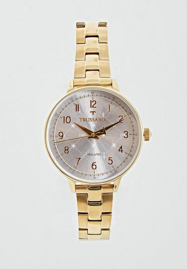 мужские часы trussardi, золотые