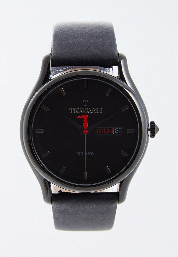 мужские часы trussardi, черные