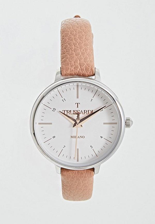 женские часы trussardi, розовые