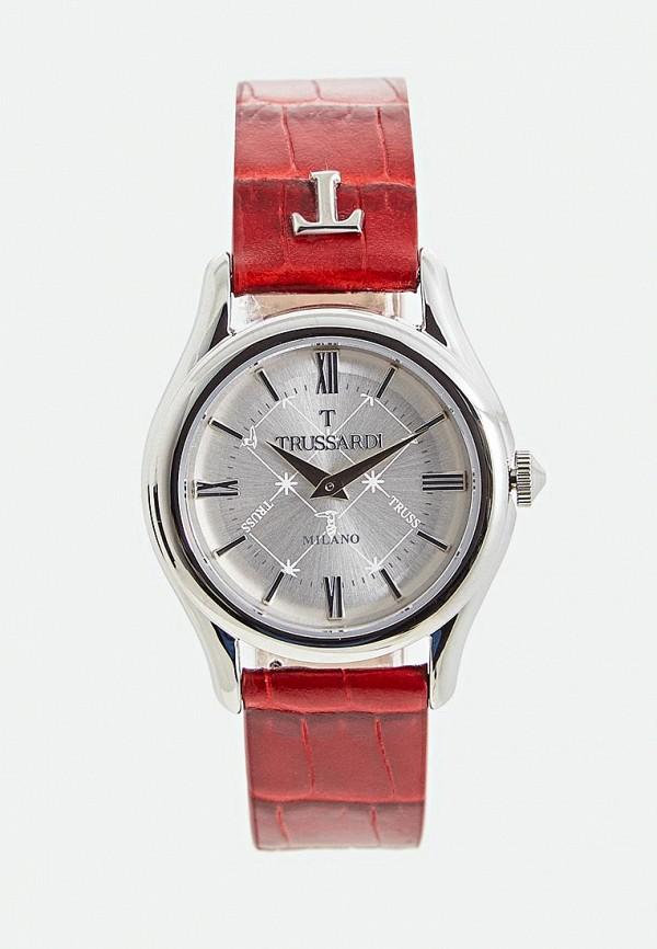 женские часы trussardi, красные