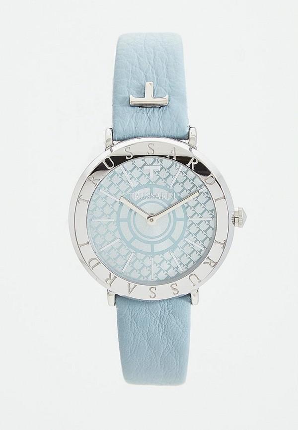 женские часы trussardi, голубые