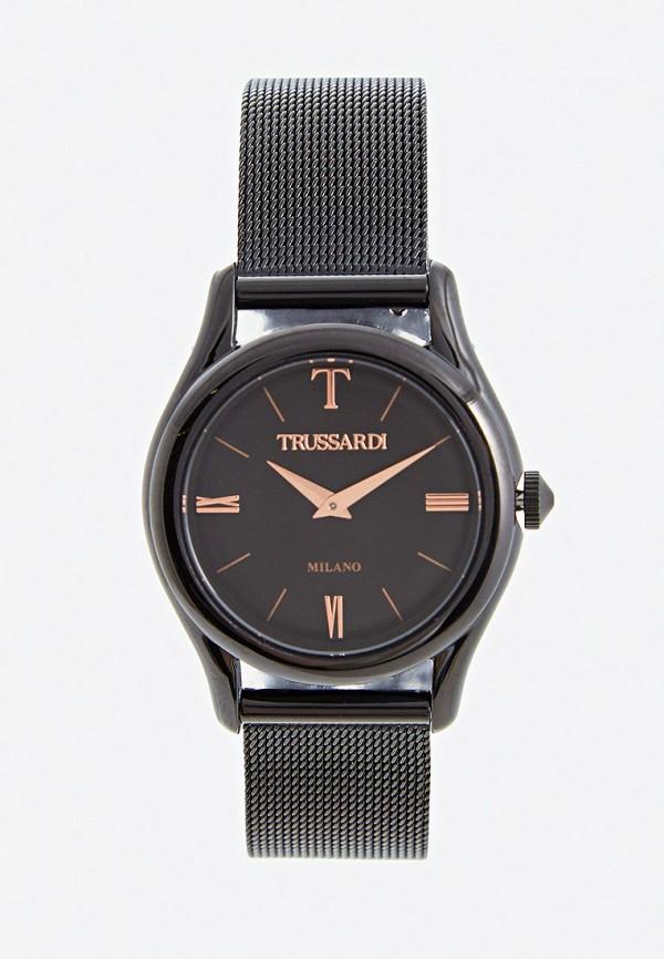 женские часы trussardi, черные