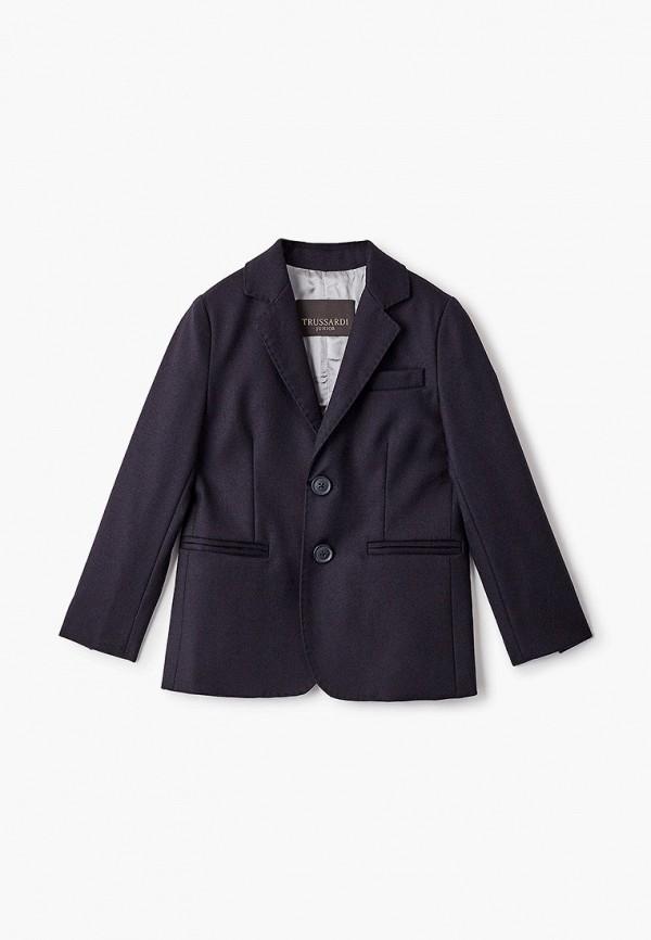 пиджак trussardi для мальчика, черный