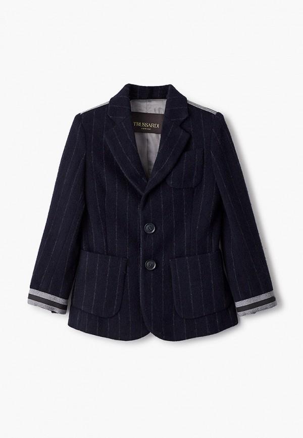 пиджак trussardi для мальчика, синий