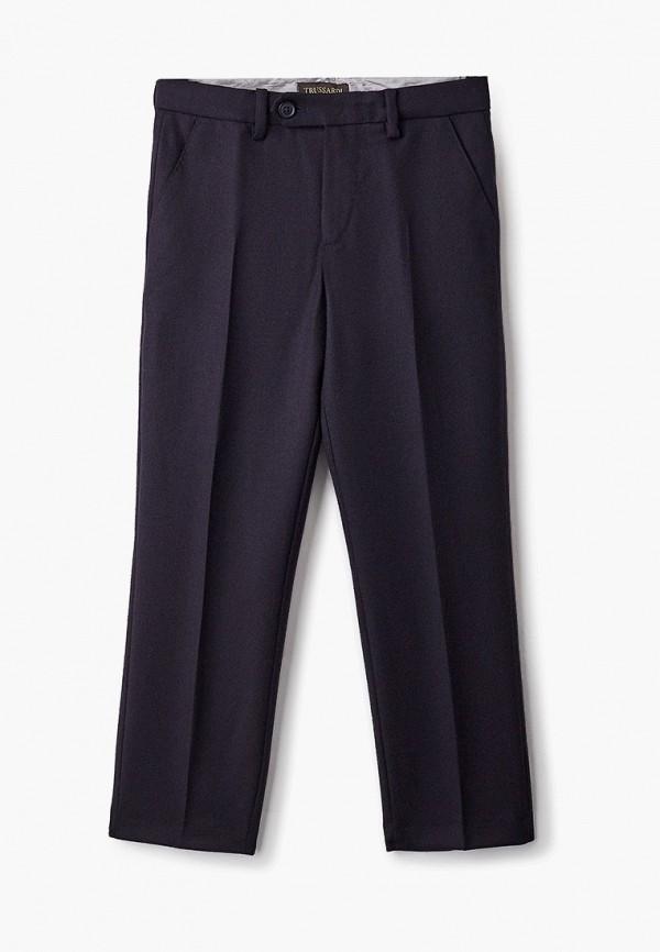брюки trussardi для мальчика, черные