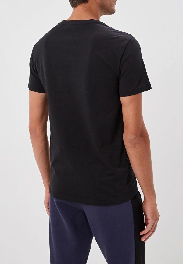 Фото 3 - мужскую футболку Trussardi черного цвета