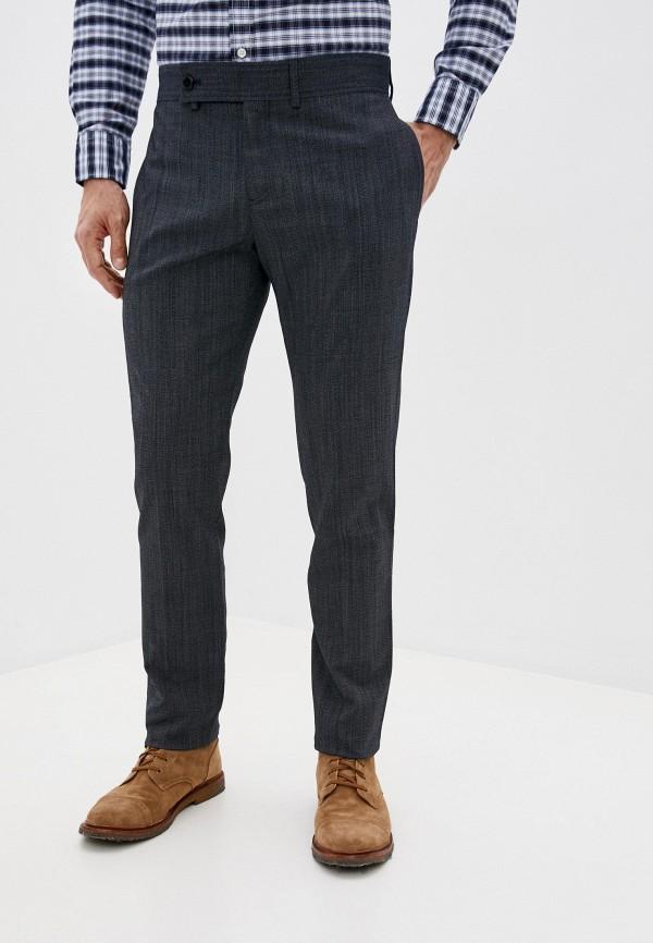 мужские зауженные брюки trussardi, синие