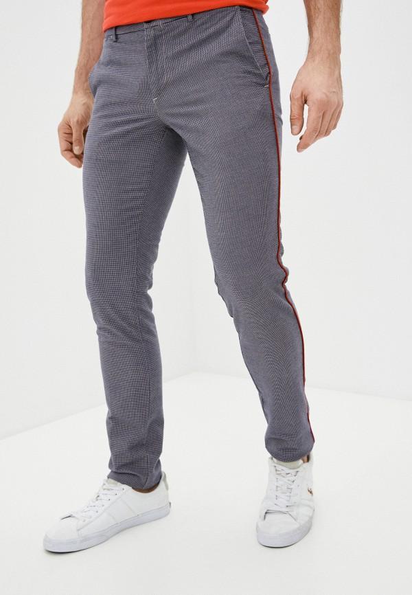 мужские повседневные брюки trussardi, серебряные