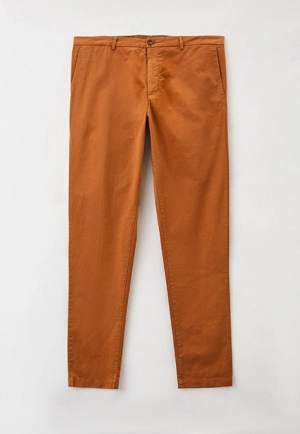 мужские брюки чинос trussardi, коричневые