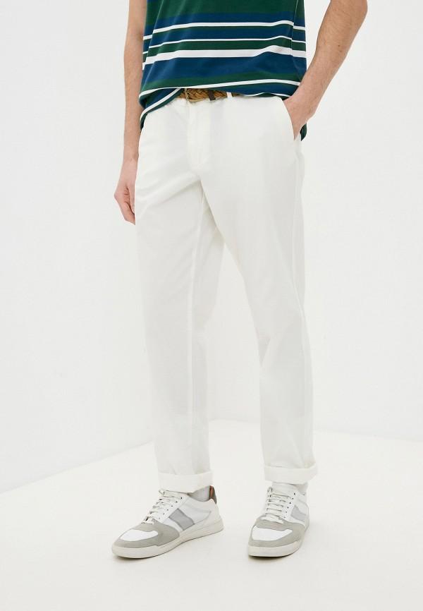 мужские повседневные брюки trussardi, белые
