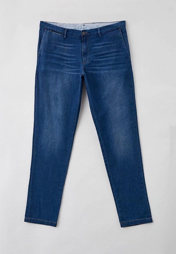 мужские зауженные джинсы trussardi, синие