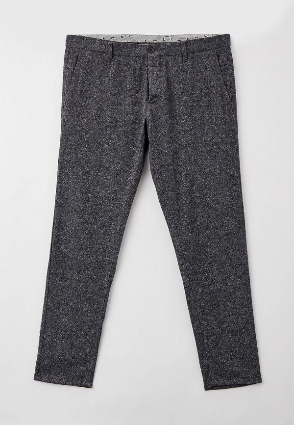 мужские зауженные брюки trussardi, серые