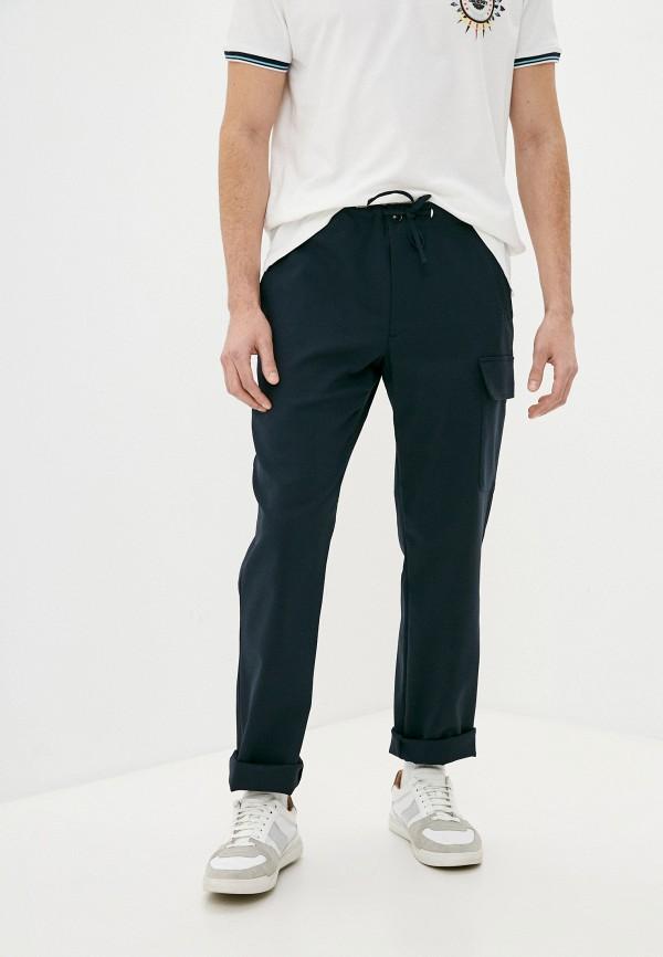 мужские прямые брюки trussardi, синие