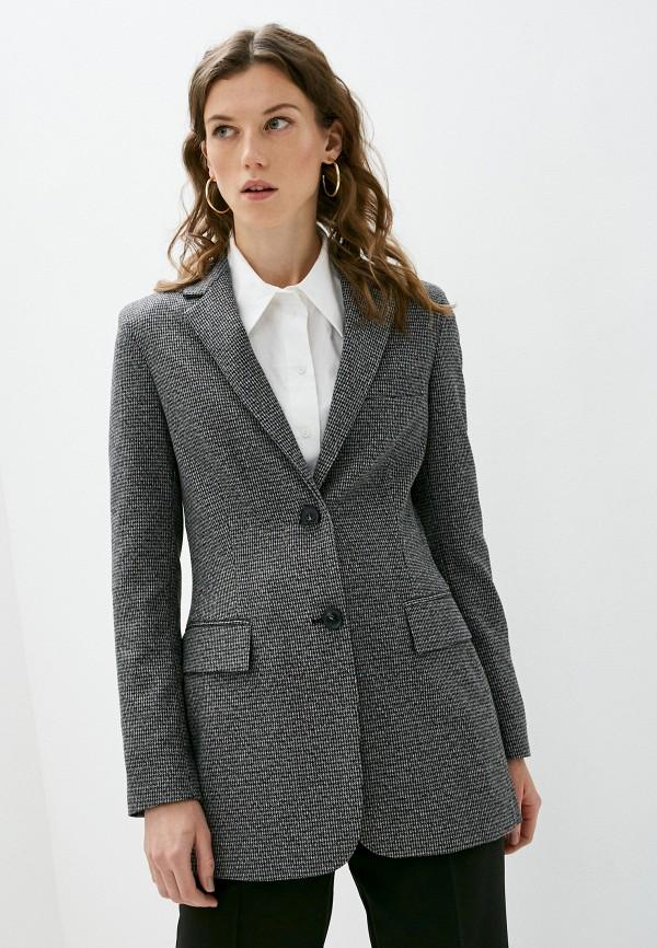 женский пиджак trussardi, черный
