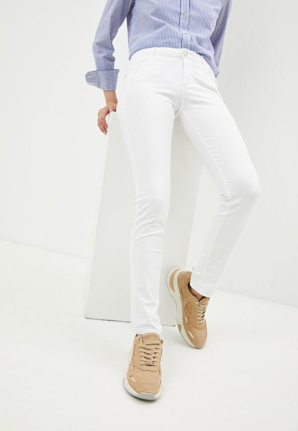 женские джинсы trussardi, белые