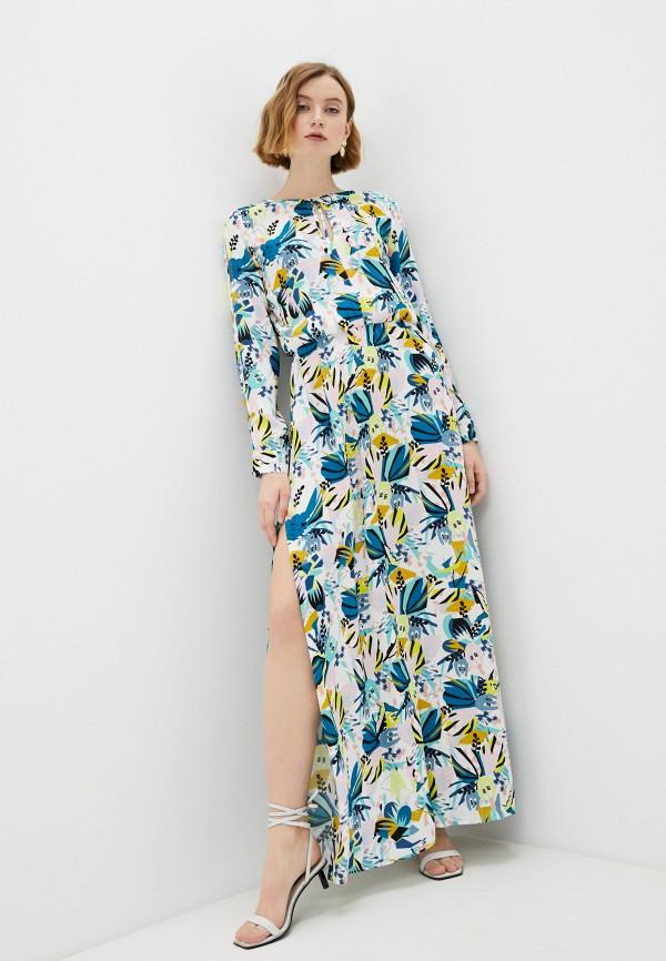женское повседневные платье trussardi, разноцветное