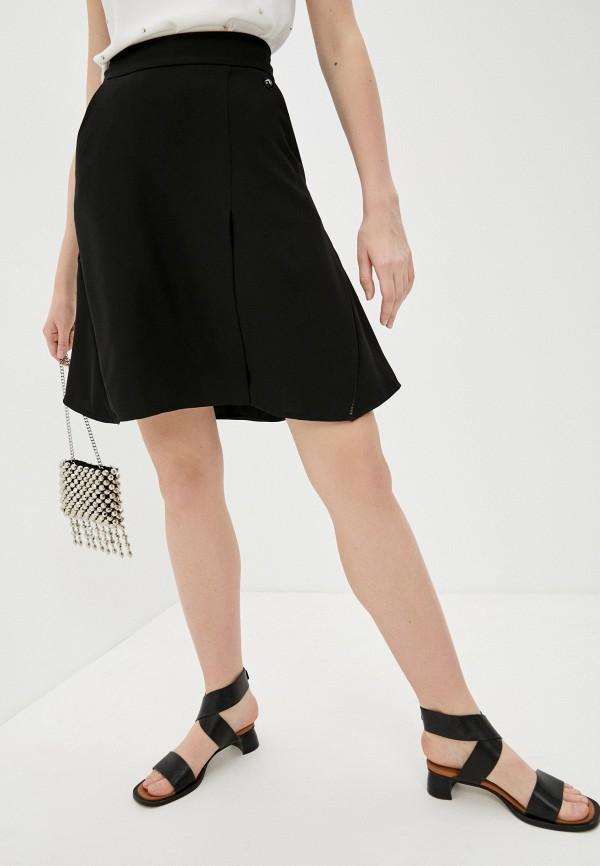 женская юбка trussardi, черная