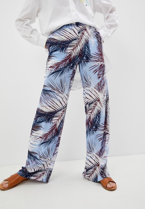 женские повседневные брюки trussardi, разноцветные
