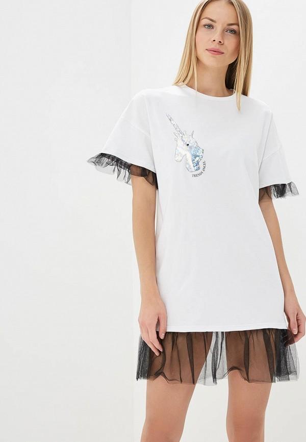 Купить Платье TrendyAngel, TR015EWAWGP3, белый, Весна-лето 2018