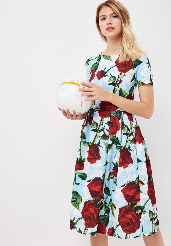 Купить Платье TrendyAngel, TR015EWBXVK9, голубой, Осень-зима 2018/2019