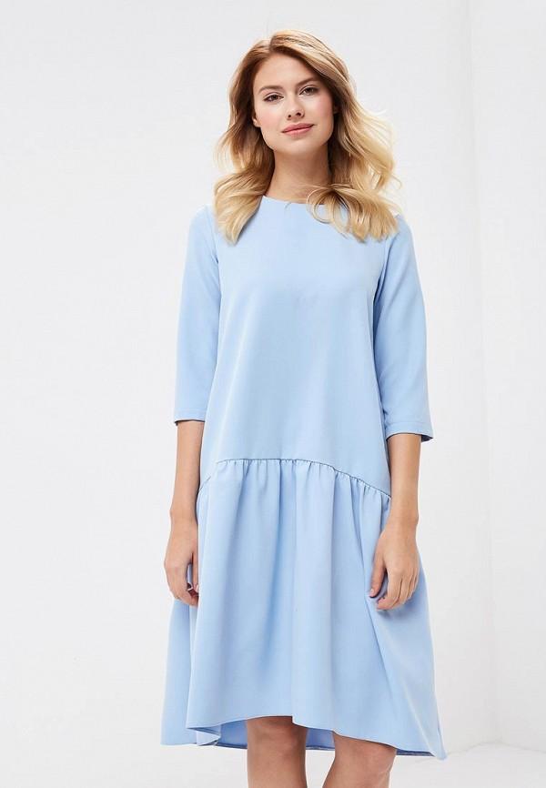 Купить Платье TrendyAngel, TR015EWBXVN8, голубой, Осень-зима 2018/2019